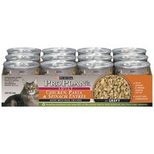 Chicken, Pasta and Spinach Cat Food (3-oz, case of 24)