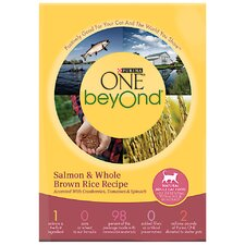 Beyond Salmon / Brown Rice Cat Food (16-oz, case of 12)