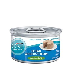 Smartblend Braised Cuts Ocean Whitefish in Gravy  Wet Cat Food (3-oz, case of 24)
