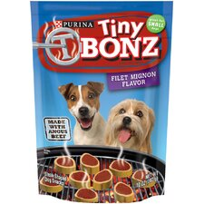 Tiny Filet Mignon Dog Treat (Case of 10)