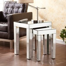 Optica 2 Piece Nest of Table