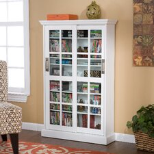 Windowpane CD/DVD Media Cabinet