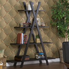 "<strong>Southern Enterprises</strong> Havenwood ""X"" Etagere Bookshelf"