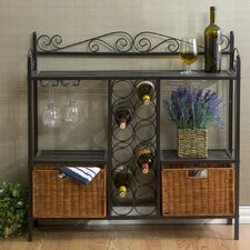 <strong>Southern Enterprises</strong> Scout Scrolled Bistro Wine Rack