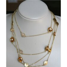 Goldtone Geometric Crystal