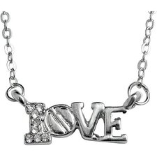 Small Love Crystal Necklace