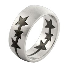 Star Pop-Out Puzzle Piece Band Ring