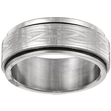 Celtic Tribal Spinner Band Ring