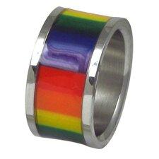 Rainbow Film Band Ring