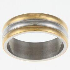Ribbed Band Ring