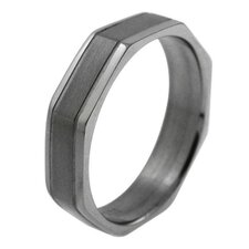 Men's Octagon Band Ring