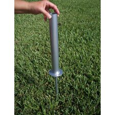 "4"" Flagpole Ground Mount"