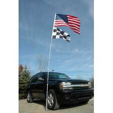 <strong>JTD Enterprises</strong> Ultimate Tailgaters Telescoping Flagpole