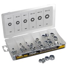 Locknut Assortment (Set of 100)