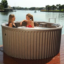 Antigua Spa with Optional Storage Steps