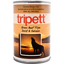 Beef Tripe, Duck and Salmon Wet Dog Food