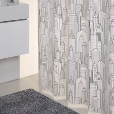 City Shower Curtain in Multicolour