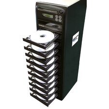 1 Reader to 10 Writer DVD / CD Duplicator