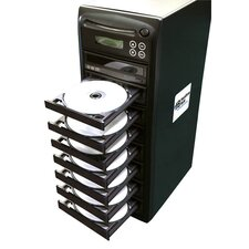 1 Reader to 7 Writer DVD / CD Duplicator