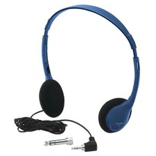 Kids Blue Personal Mono / Stereo Headphone