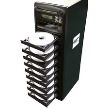 1 Reader to 9 Writer DVD / CD Duplicator