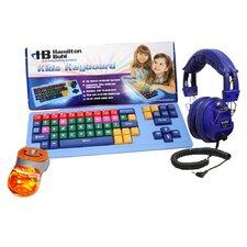 Kids Keyboard, Mouse and Headphone
