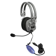 Deluxe USB Headphone with Microphone