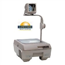 Closed Head Single Lens Overhead Projector (3000 lumens) with Fold Down Arm