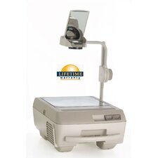 Open Head Triple Lens Overhead Projector (3000 lumens) with Fold Down Arm and Carry Handle