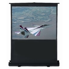 "48"" x 36"" Portable Floor Screen - 4:3 Format"