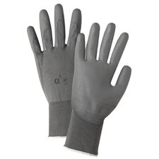 Polyurethane Coated Gloves 6050Xs 13 Cut Grey Nylon Urethane Coat: 101-6050-Xs - 6050xs 13 cut grey nylon urethane coat