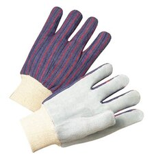 2000 Series Leather Palm Gloves - 3863 leather palmknit wrist cotton
