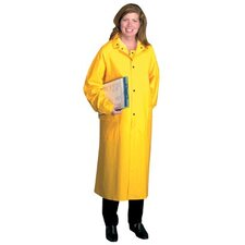 "Raincoats - 48"" raincoat pvcover polyester large"