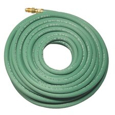 Single Line Welding Hoses - r 1/4x1 green single line bulk hose