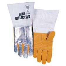 High Heat Welding Gloves - premium high heat reflective welding glove large