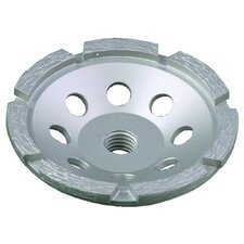 "Diamond Single Row Cup Wheels - 7"" single row cup wheelwith 5/8-11 thread"