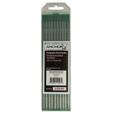 Tungsten - 3/16x7 pure ground tungsten green(5pk)