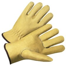 4000 Series Pigskin Leather Driver Gloves - 7007l premium pigskin drivers glove