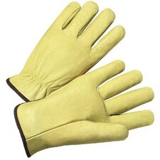 4000 Series Pigskin Leather Driver Gloves - 7010xl pigskin drivers glove