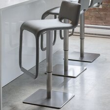 Azure Hydraulic Adjustable Height Bar Stool with Base (Set of 4)
