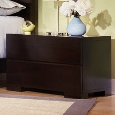 <strong>Home Image</strong> Madrid 2 Drawer Nightstand