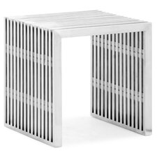 <strong>dCOR design</strong> Novel Stainless Steel Entryway Bench