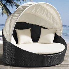 <strong>dCOR design</strong> Colva Outdoor Canopy Bed with Cushions