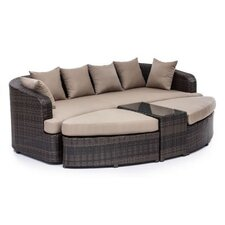 Cove Beach 4 Piece Lounge Seating Group