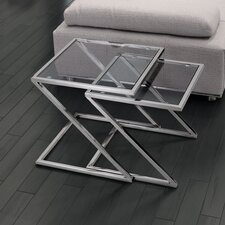 Jaunt 2 Piece Nesting End Table