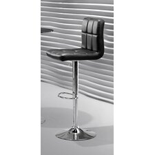 "Agency 24.8"" Adjustable Bar Stool"