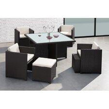 Naples 9 Piece Dining Set