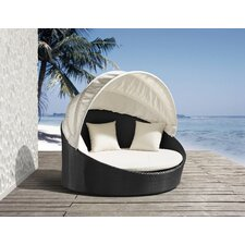 Colva Outdoor Canopy Bed with Cushions