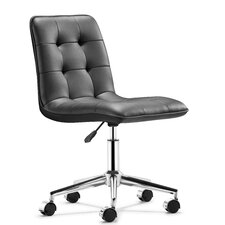 Mid-Back Leather Scout Leatherette Office Chair