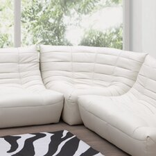 Carnival Leatherette Modular Sofa